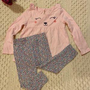 EUC toddler girl outfit